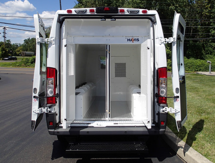 Prisoner Transport Van >> Havis Prisoner Transport Cargo Van Inserts Mega Tech