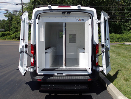 Havis Prisoner Transport Cargo Van Inserts