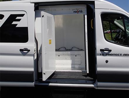 Havis Prisoner Transport Cargo Van Inserts