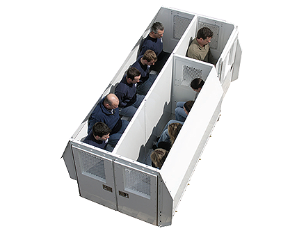Havis Prisoner Transport Cargo Van Inserts Mega Tech