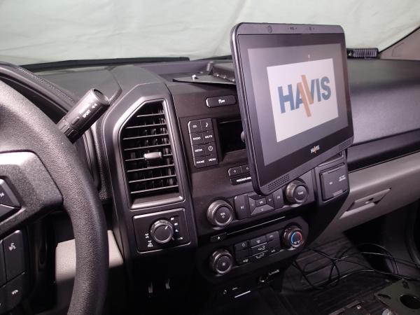 Havis Dash Mount Bracket Ford Pickup | Mega-Tech