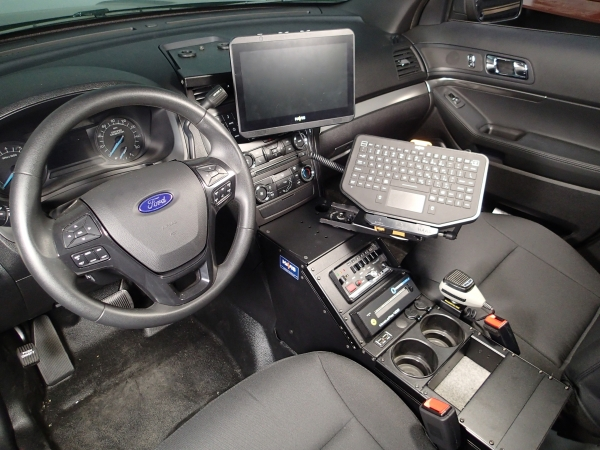Havis Interceptor SUV Vehicle Specific Console | Mega-Tech