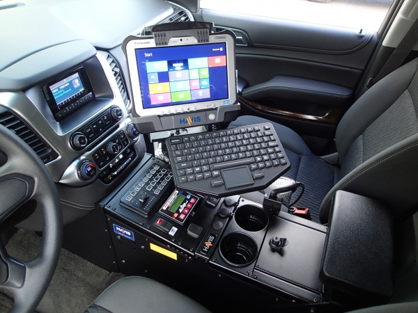 Havis Tahoe Police Vehicle Specific 23 Quot Console Mega Tech