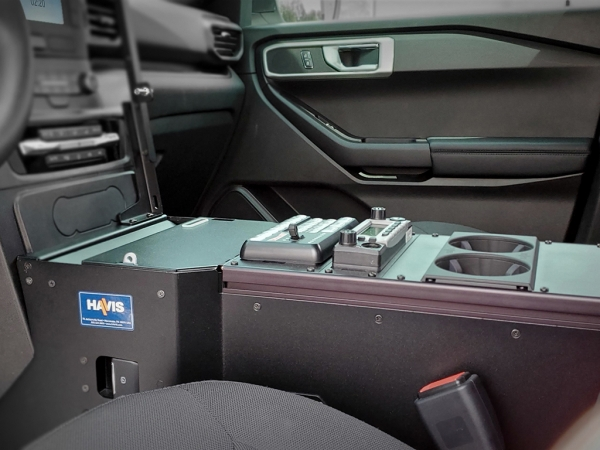 Havis Flat Console (Ford Interceptor SUV)
