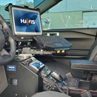 Havis Angled Console (Ford Interceptor SUV)